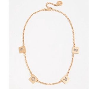 Nwot tory burch love necklace
